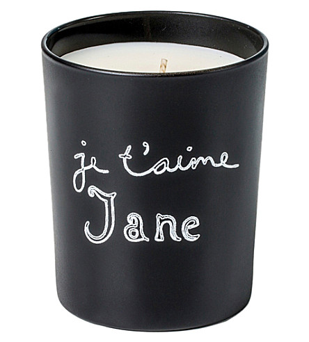 THE CONRAN SHOP Je t'aime candle