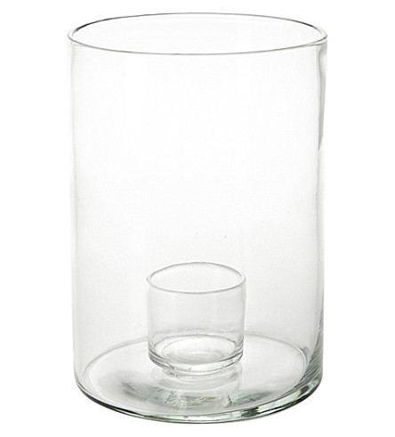 THE CONRAN SHOP Tournon Hurricane extra large glass candle holder