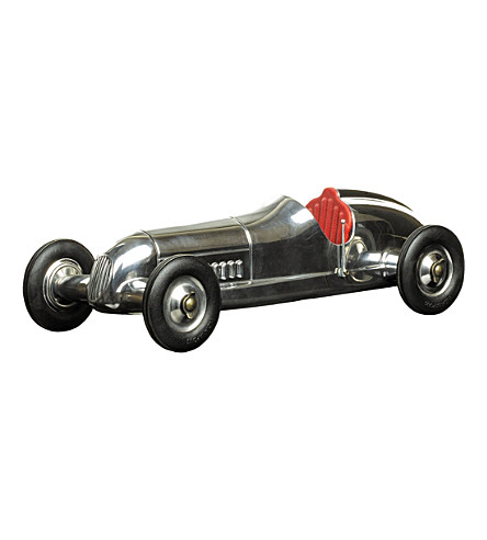 THE CONRAN SHOP Authentic Models Indianapolis car model (None/clear