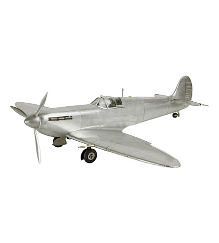 THE CONRAN SHOP Authentic Models Spitfire plane model (None/clear