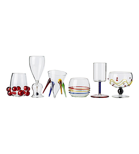 THE CONRAN SHOP Jazzini set of 6 shot glasses