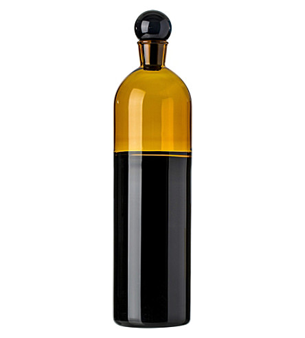 THE CONRAN SHOP Hand-blown glass bottle