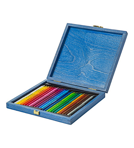 THE CONRAN SHOP Set of 24 woodless coloured pencils