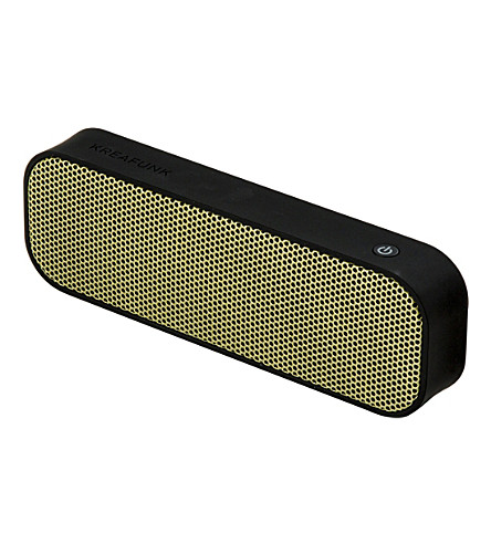 THE CONRAN SHOP Kreafunk aGroove wireless speaker (Black