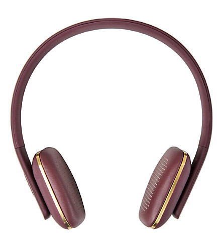 THE CONRAN SHOP Kreafunk aHead wireless headphones (Purple