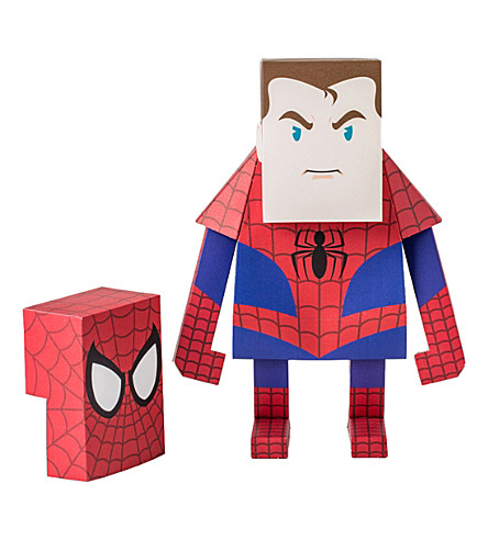 THE CONRAN SHOP Spiderman paper model