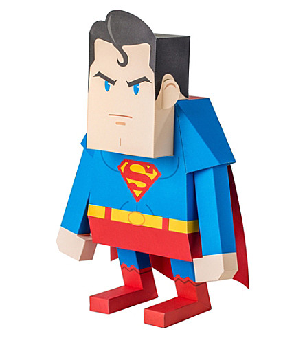 THE CONRAN SHOP Superman paper model