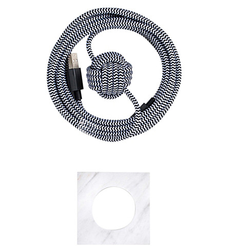THE CONRAN SHOP Native Union Night Lightning cable set
