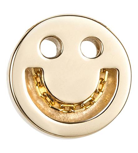 THE CONRAN SHOP Happy 18ct gold vermeil chain studs