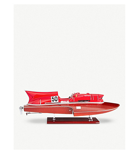 THE CONRAN SHOP Ferrari Arno XI racing hydroplane scale model