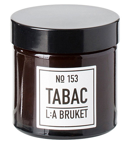THE CONRAN SHOP Tabac soy wax travel candle