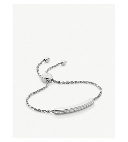 MONICA VINADER Linear 18ct gold-plated chain bracelet