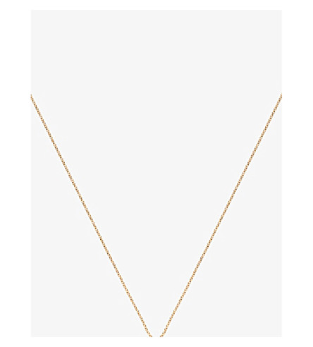 MONICA VINADER 18ct yellow gold-plated vermeil fine chain