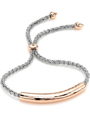 MONICA VINADER Esencia 18ct rose gold-plated friendship bracelet