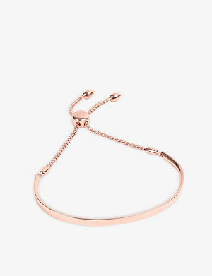 MONICA VINADER Fiji 18ct rose gold-plated chain bracelet