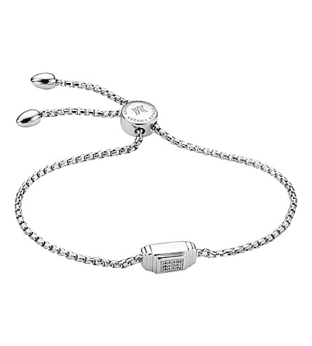 MONICA VINADER Baja Deco Sterling silver and Diamond Bracelet