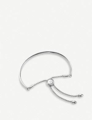 MONICA VINADER Fiji sterling silver chain bracelet