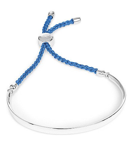 MONICA VINADER Fiji sterling silver friendship bracelet