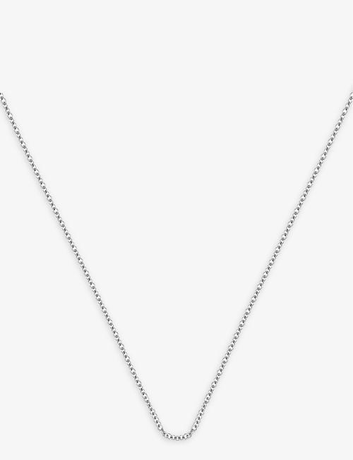 MONICA VINADER Sterling silver fine chain