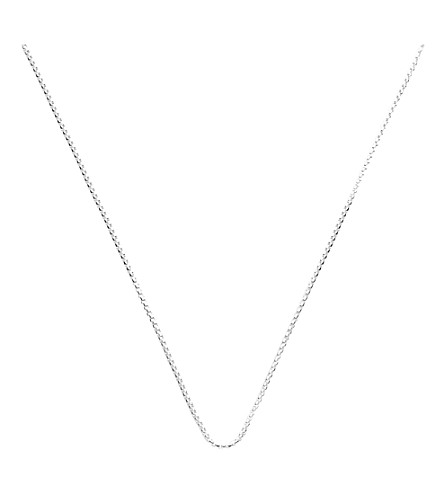 MONICA VINADER Alta sterling silver box chain