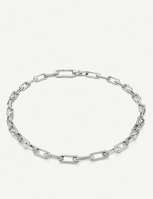 MONICA VINADER Alta Capture Charm sterling silver link necklace