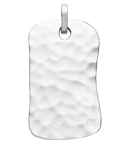 MONICA VINADER Alta sterling silver ID tag