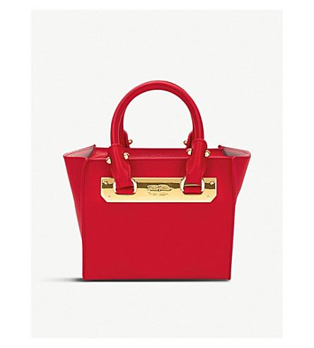 Rojo texturado Style FOLLI de Code cuero bandolera FOLLIE 4nYOwq0