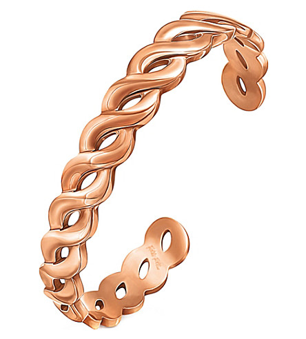 FOLLI FOLLIE Apeiron rose gold-plated bangle (Rose+gold