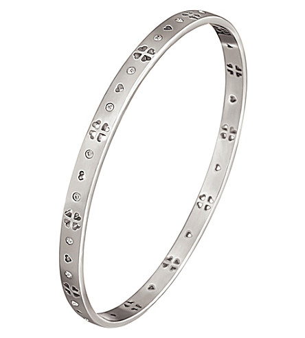 FOLLI FOLLIE Love&Fortune silver-plated bracelet (Silver