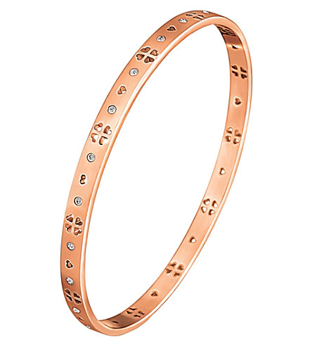 FOLLI FOLLIE Love&Fortune rose gold-plated bracelet (Rose+gold
