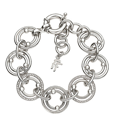 FOLLI FOLLIE Bonds silver-plated bracelet (Silver