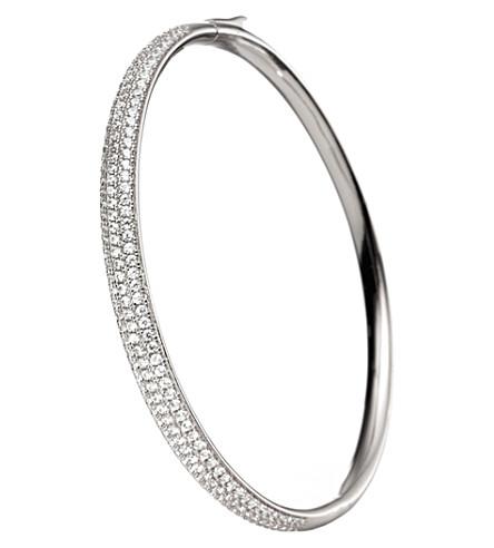 FOLLI FOLLIE Fashionably silver bangle (Silver