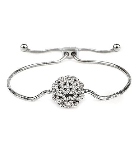 FOLLI FOLLIE Santorini Flower silver-plated bracelet (Silver
