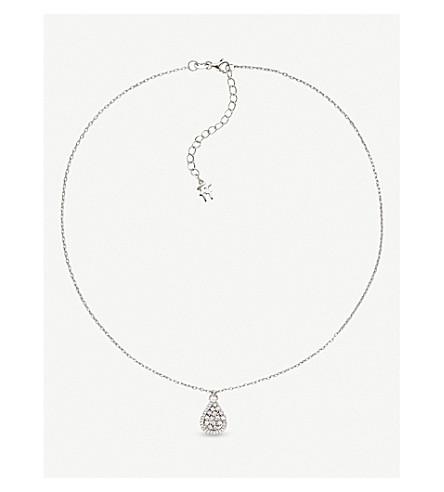 FOLLI FOLLIE Sparkle Chic sterling silver necklace