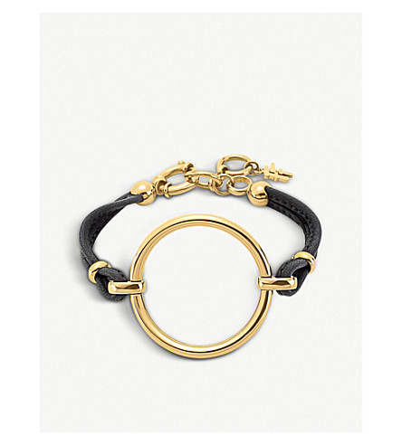 FOLLI FOLLIE Metal Chic gold-plated bracelet (Silver