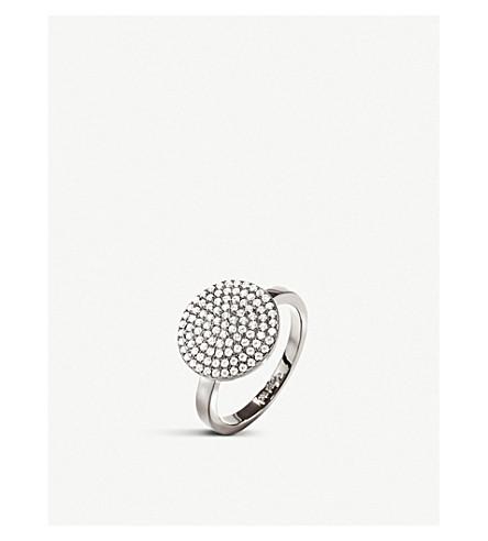 FOLLI FOLLIE Discus circle silver ring (Silver