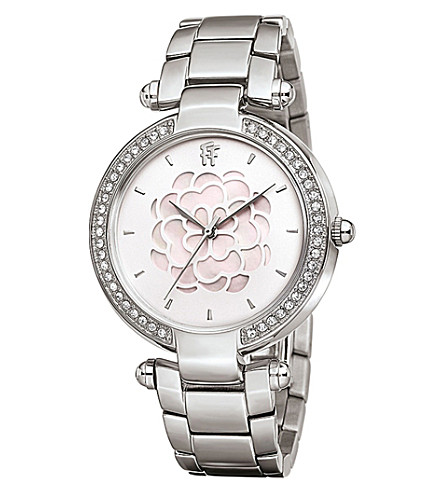 FOLLI FOLLIE Santorini Flower stainless steel watch (Silver