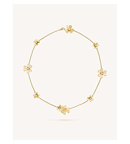 VAN CLEEF & ARPELS Frivole gold and diamond necklace (Yellow+gold