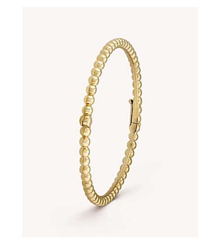 VAN CLEEF & ARPELS Perlée Pearls of Gold gold bracelet (Yellow+gold