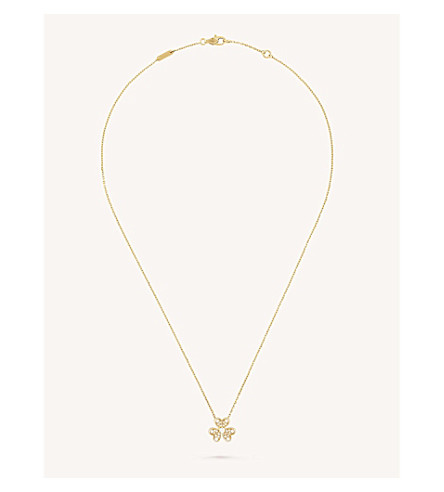 VAN CLEEF & ARPELS Frivole diamond pendant