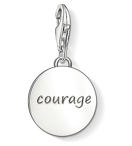 THOMAS SABO Charm club silver courage charm pendant