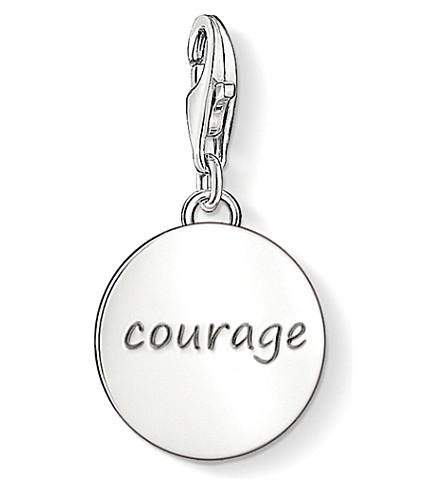 THOMAS SABO Charm club silver courage charm pendant