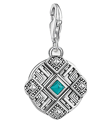 THOMAS SABO Weaving sterling silver charm