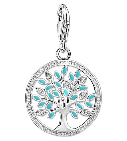 THOMAS SABO Charm club tree of love silver charm pendant