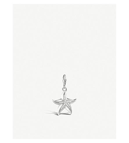 THOMAS SABO Starfish sterling silver charm pendant