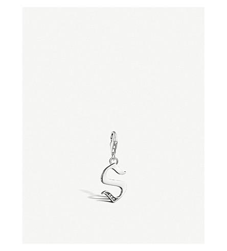 THOMAS SABO Vintage S letter sterling silver charm