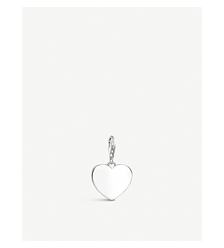 THOMAS SABO Heart sterling silver charm