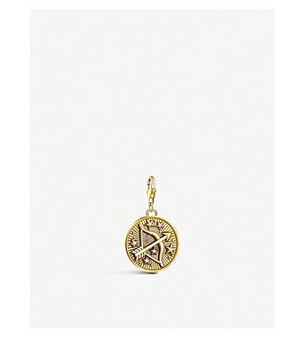 THOMAS SABO Sagittarius 18ct yellow gold-plated zodiac charm