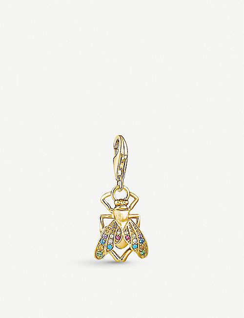 THOMAS SABO 飞黄金镀和宝石吊饰
