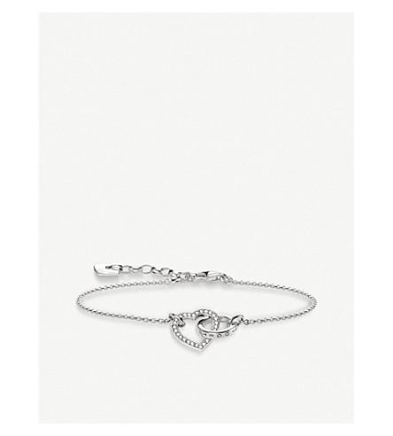 THOMAS SABO Valentines Day Together Forever heart sterling silver bracelet